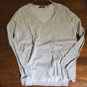 Zara knit grey sweater size S